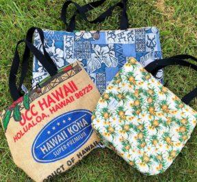 e9a90b56646 UCC Hawaii original hand made tote bags | UCC Hawaii