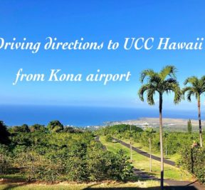UCC Hawaii Driving Directions